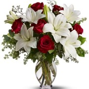 Roses and Lilies $110.00